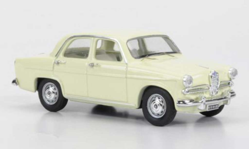 RIO -Alfa Romeo GiuliettaT.I. 1955 - Giallo Cina - hellgelb, 1:43