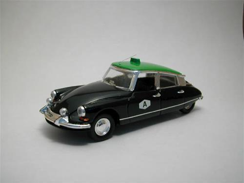 RIO - Citroën DS 19portogiesisches Taxi 1963 schwarz und mint, 1:43