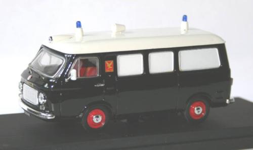 RIO -Fiat 238 Ambulanz Falk Dänemark schwarz, 1:43