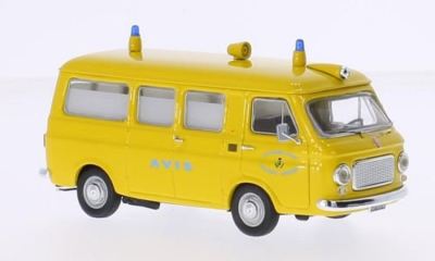 RIO -Fiat 238 Ambulanza Avis gelb, 1:43
