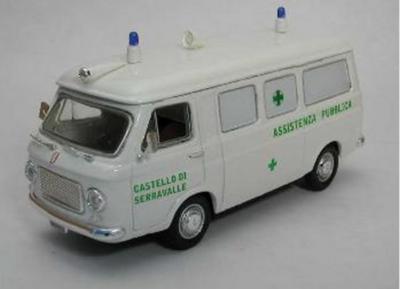 RIO -Fiat 238 AmbulanzaCroce Verde weiss, 1:43