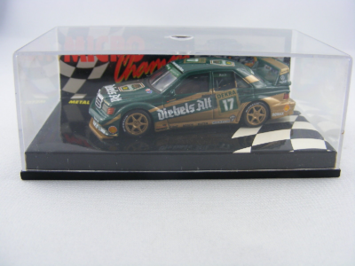Paul's Model Art Minichamps - Mercedes 190E 2.5-16 EVO2 Dekra 17 Roland Asch, 1:64
