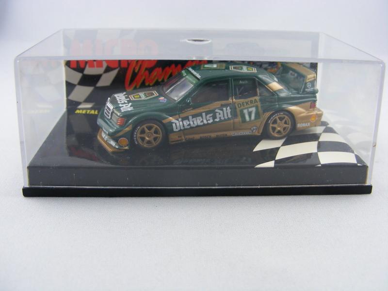 Paul's Model Art Minichamps - Mercedes 190E 2.5-16 EVO2 Dekra 17 Roland Asch, 1:64