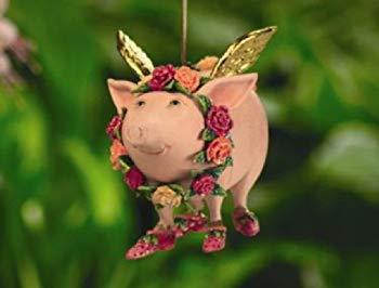 "Krinkles - Rosenschwein ""Flying Pig"""