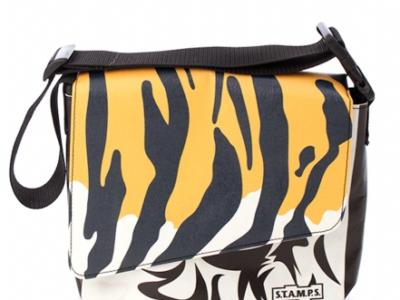 S.T.A.M.P.S. - Tasche - Urban Bag - Black Tiger