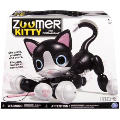 Zoomer Kitty ist eineniedliche Roboterkatze.