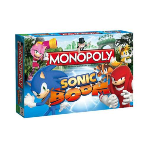 Sonic Boom - Brettspiel Monopoly
