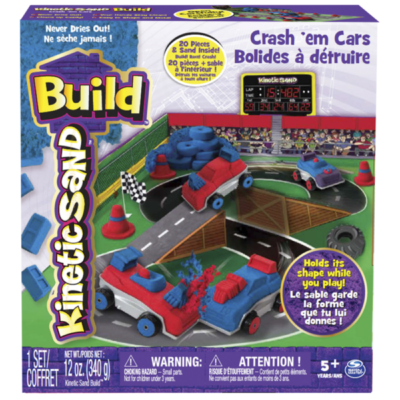 Spinmaster - Kinetic Build Crash'em Cars
