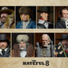 The Hateful Eight Actionfiguren, Set mit 8 Figuren