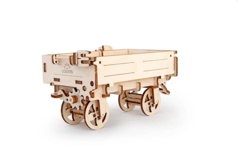 UGEARS 70006 - Traktor Anhänger, Modell mit Funktion