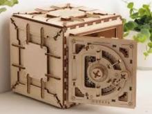 UGEARS 70011 - Tresor 3D Holzmodell