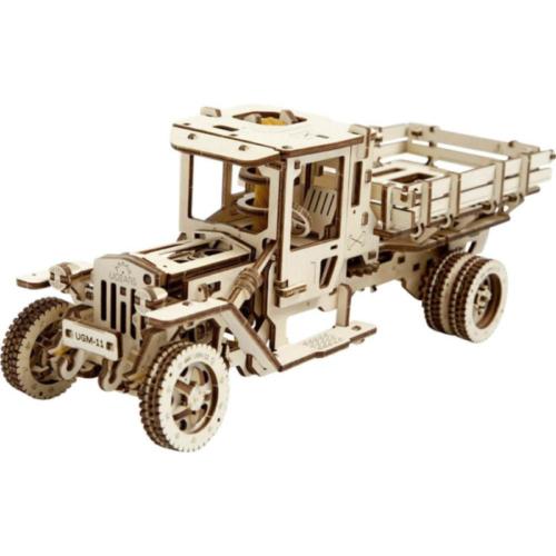 ugears 3D Holzbausätze-70015-truck,-holzmodell-mit-funktion