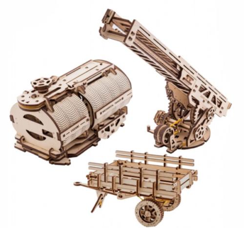 UGEARS 70018 -Truck Erweiterungsset für UGM-11