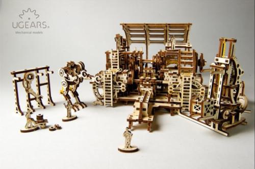 UGEARS 70039 - Robot Factory