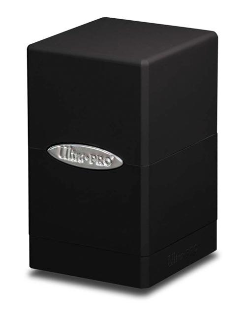 Ultra.PRO - Satin Tower Deck Box - Black