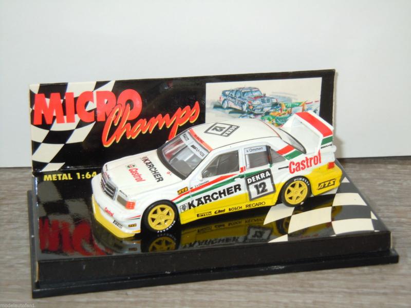 Paul's Model Art Minichamps - Mercedes 190E 2.5-16 EVO2 Dekra 12 Van Ommen, 1:64