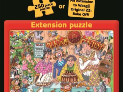 """WASGIJ - Puzzle Erweiterung zu Original 23 """"The Bake Off ... continued!"""""""