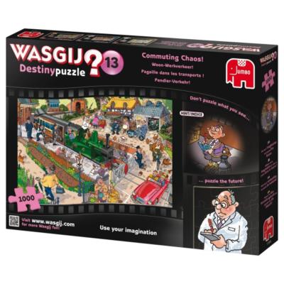 WASGIJ - Puzzle Wasgij Destiny Nr.13 - Pendler-Verkehr