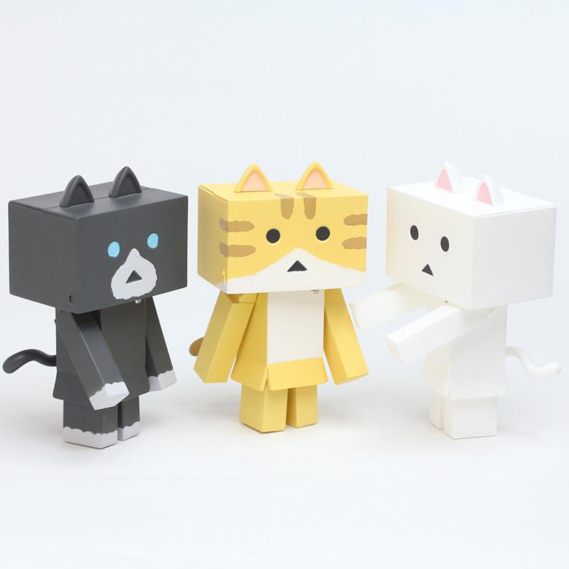 Yotsubato - Minifiguren Nyanboard 3er-Pack Sweet Set 1