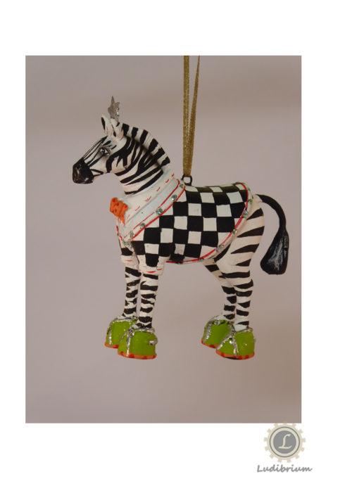 Krinkles - Mini Zeke Zebra