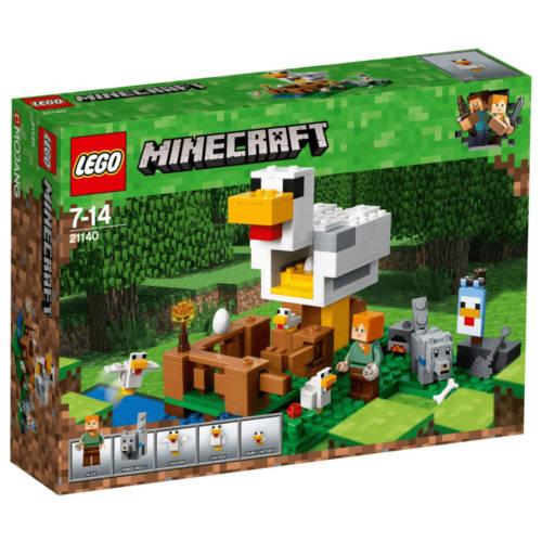 Ludibrium-LEGO® Minecraft 21140 - Hühnerstall