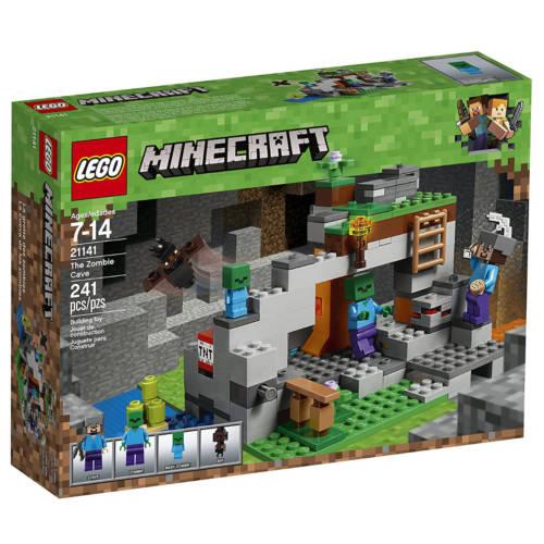 Ludibrium-LEGO Minecraft 21141 - Zombiehöhle - Klemmbausteine