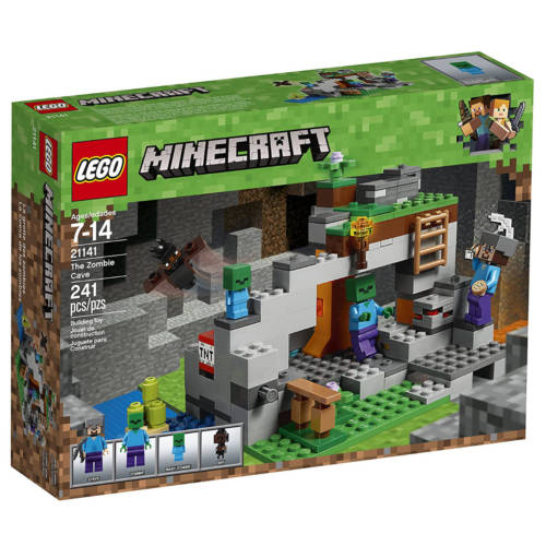 Ludibrium-LEGO® Minecraft 21141 - Zombiehöhle