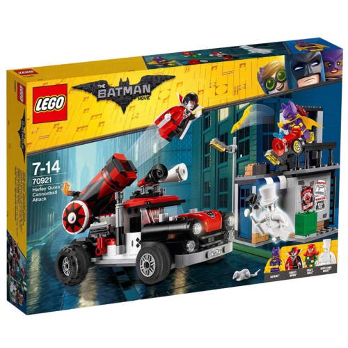 Ludibrium-LEGO Batman Movie 70921 - Harley Quinn Kanonenkugelattacke - Klemmbausteine