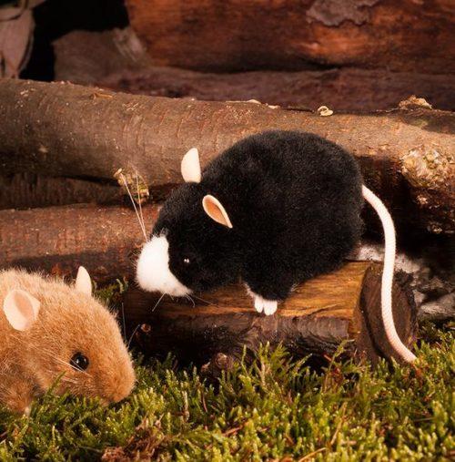 Kösen - Maus schwarz-weiss