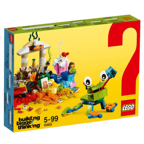 Ludibrium-LEGO Classic 10403 - Spaß in der Welt - Klemmbausteine