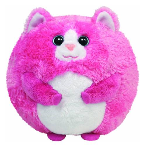 Ludibrium-Beanie Ballz TUMBLES Ball - Katze Pink