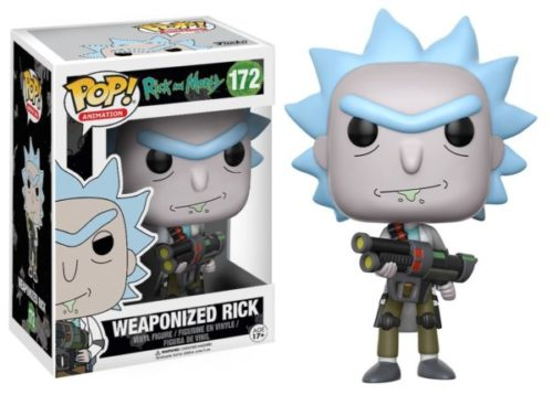 Rick and Morty POP! Animation Figuren Weaponized Rick