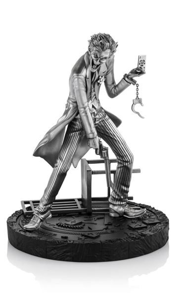 Joker 1:12 Pewter Collectible Statue - DC Comics