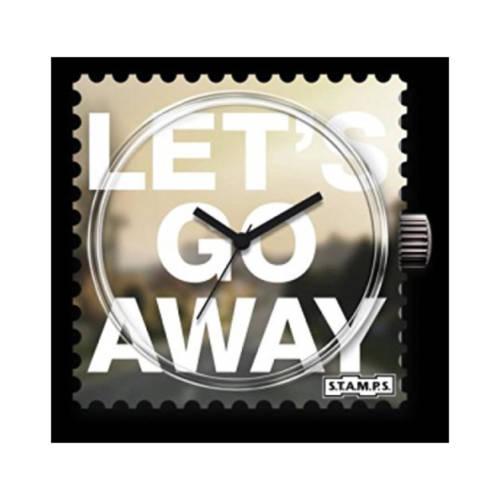 S.T.A.M.P.S. - Uhrenmotiv Let's go away