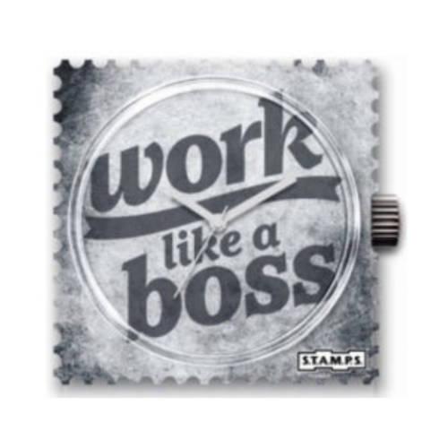 S.T.A.M.P.S. - Uhrenmotiv work like a boss