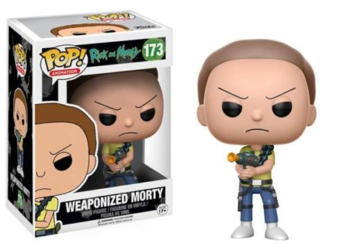 Rick and Morty - POP Animation Figur Weaponized Morty