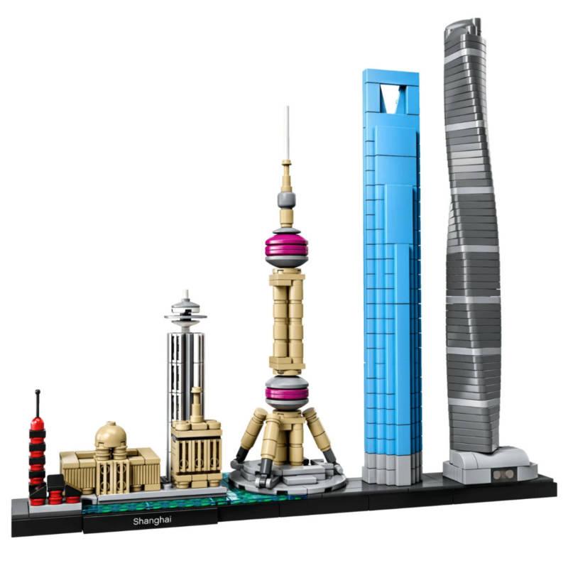 Ludibrium-LEGO Architecture 21039 - Shanghai