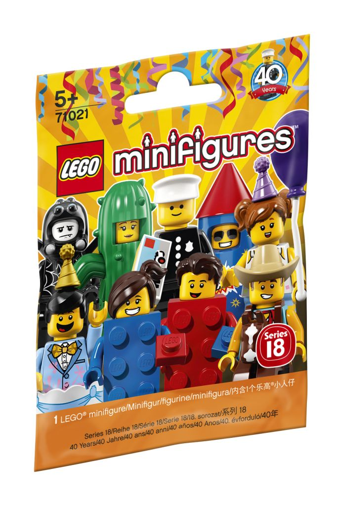 LEGO Minifiguren Serie 18: Party