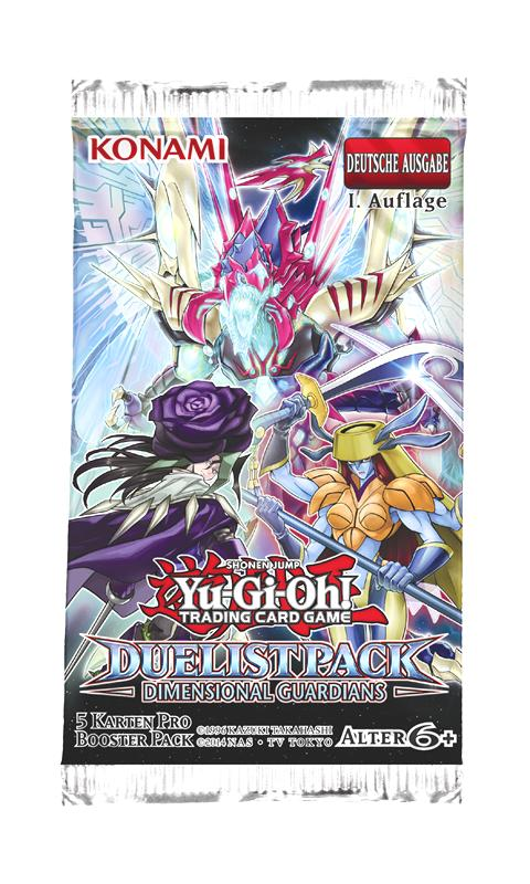 Yu-Gi-Oh - Duelist Pack Dimensional Guardians Booster