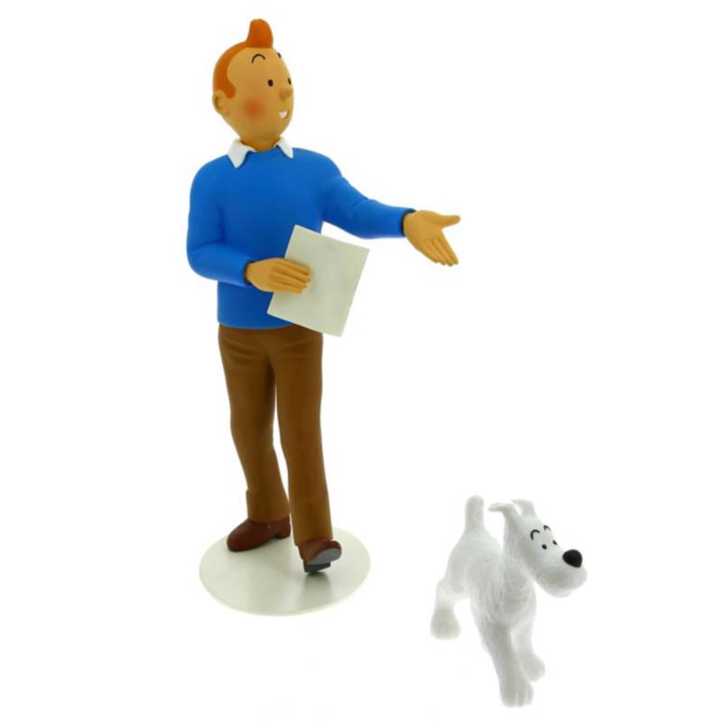Figur Tim und Struppi: Le Musée Imaginaire de Tintin