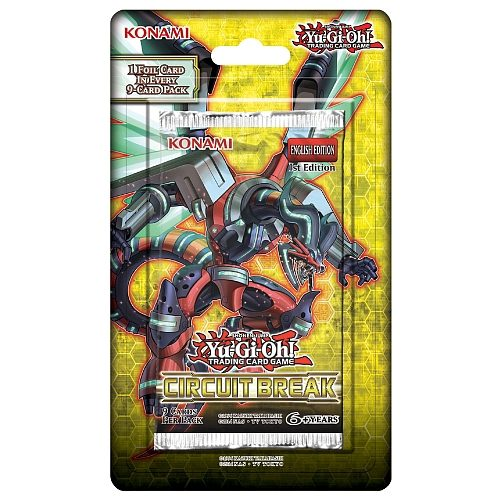 Yu-Gi-Oh Circuit Break Booster Blister