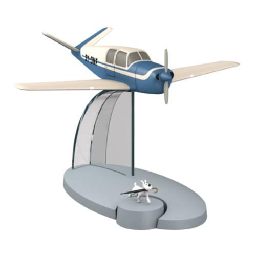 Blaues Flugzeug der Entführer/ Avion bleu kidnappeurs de l'affaire tournesol