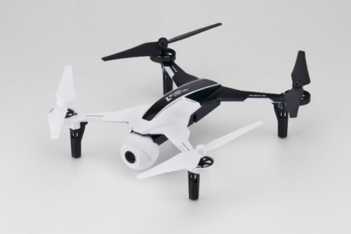 Nine Eagles Galaxy Visitor 7 RTF Quadcopter (Black-white/Mode2) (Full HD)