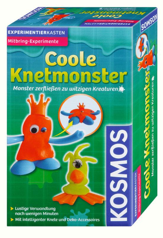 Experimentierkasten - Coole Knetmonster