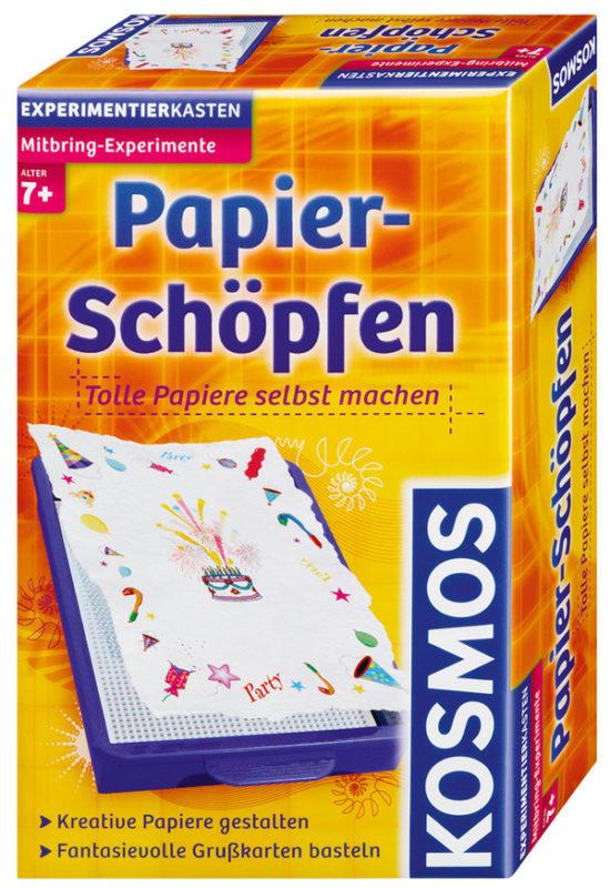 Experimentierkasten - Papierschöpfen