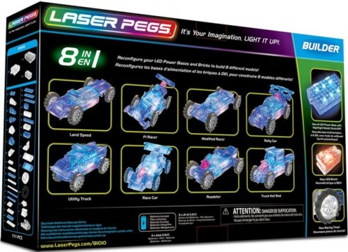 Laser Pegs - 8 in 1 Race Car