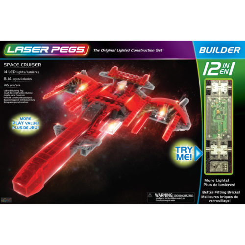 Laser Pegs - 12 in 1 Space Cruiser