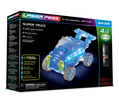 Laser Pegs - 4 in 1 Super Truck