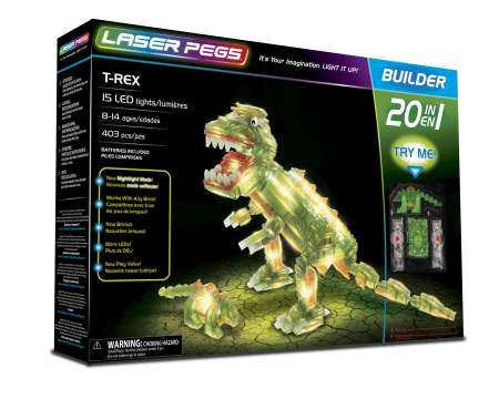 Laser Pegs - 20 in 1 T-Rex