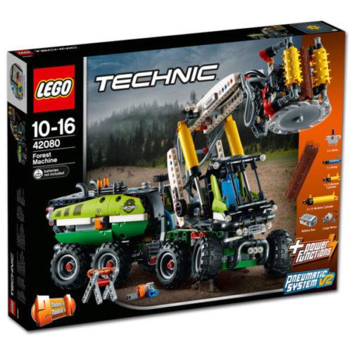 LEGO Technic 42080 - Harvester-Forstmaschine